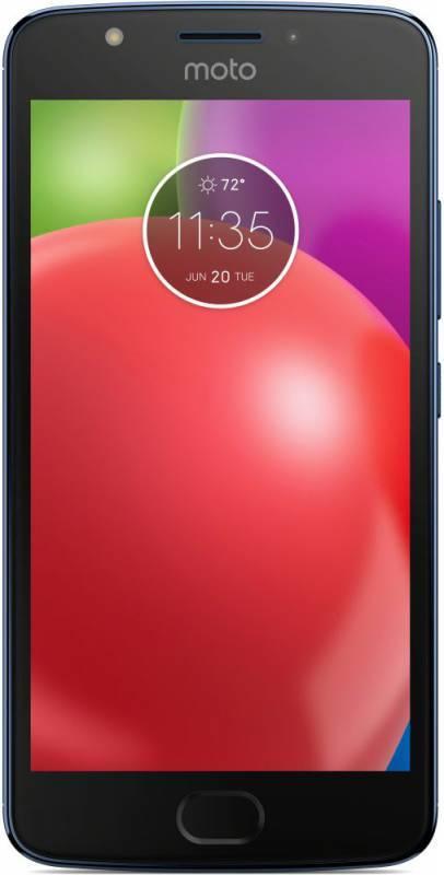 Смартфон Motorola E4 XT1762 16ГБ синий - фото 2