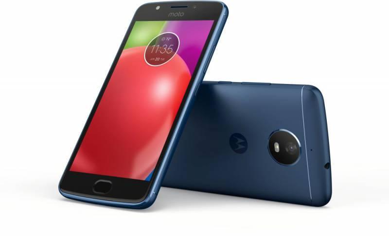 Смартфон Motorola E4 XT1762 16ГБ синий - фото 4
