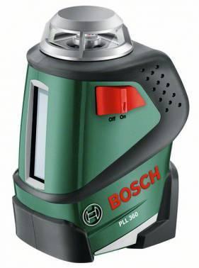 Лазерный нивелир Bosch PLL 360 SET + штанга TP 320