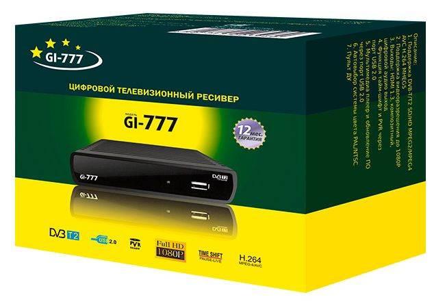 Ресивер DVB-T2 Сигнал GI777 - фото 2
