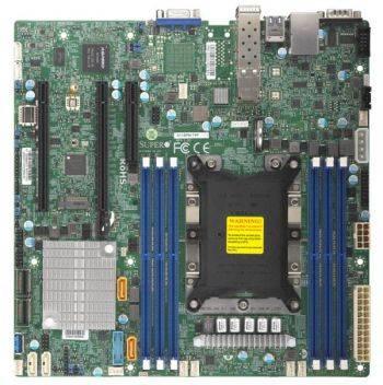 Серверная материнская плата Soc-3647 SuperMicro MBD-X11SPM-TPF-O ATX