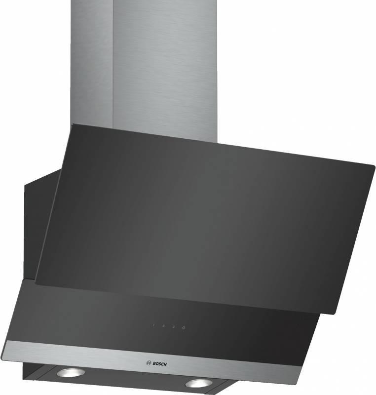Каминная вытяжка Bosch DWK065G60R черный - фото 1