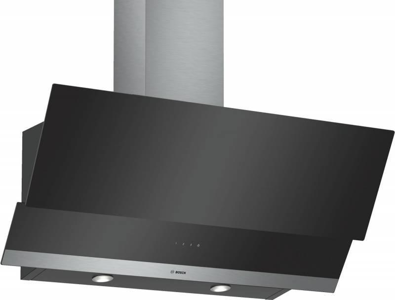 Каминная вытяжка Bosch DWK095G60R черный - фото 1