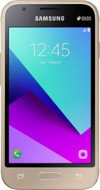 Смартфон Samsung SM-J106 Galaxy J1 mini Prime золотистый, встроенная память 8Gb, дисплей 4 800x480, Android 7.0, камера 5Mpix, поддержка 3G, 4G, 2Sim, 802.11bgn, BT, GPS, microSD до 128Gb (SM-J106FZDDSER)
