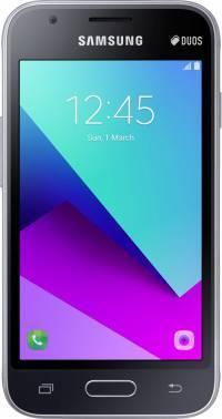Смартфон Samsung SM-J106 Galaxy J1 mini Prime черный, встроенная память 8Gb, дисплей 4 800x480, Android 7.0, камера 5Mpix, поддержка 3G, 4G, 2Sim, 802.11bgn, BT, GPS, microSD до 128Gb (SM-J106FZKDSER)