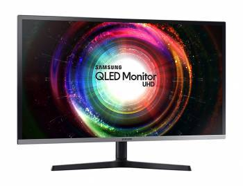 Монитор 31.5 Samsung U32H850UMI серебристый / черный