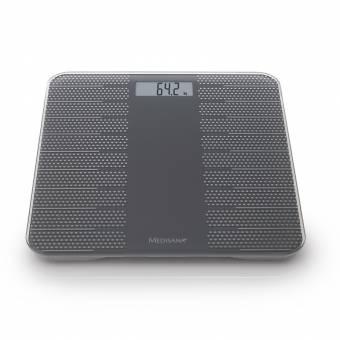 Весы напольные электронные Medisana PS 430 серебристый (40458)