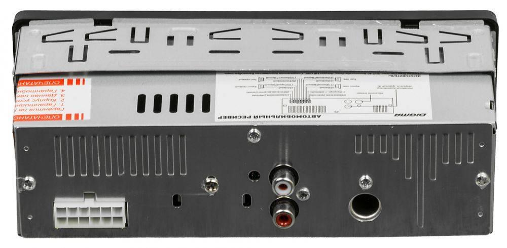Автомагнитола Digma DCR-400B - фото 3
