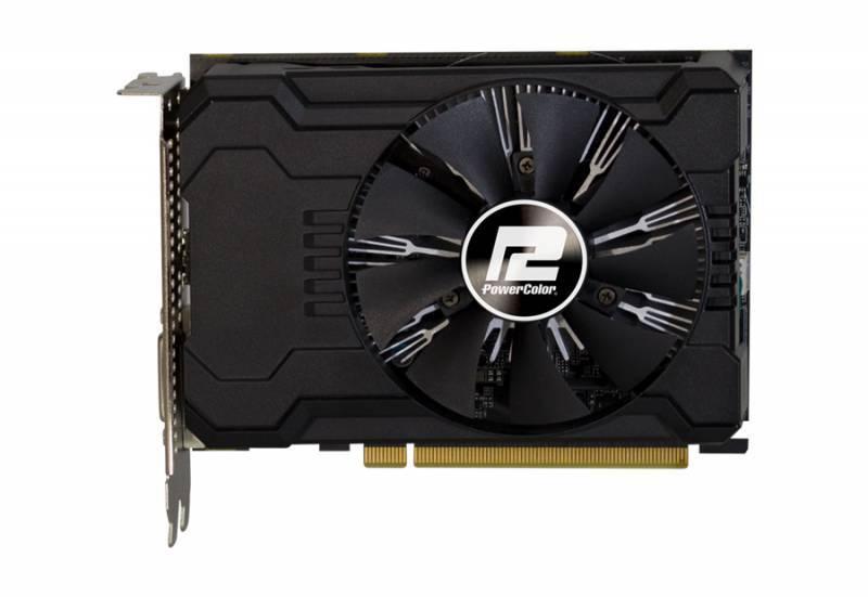 Видеокарта PowerColor Radeon RX 550 2GB 2048 МБ (AXRX 550 2GBD5-DHV2/OC) - фото 2