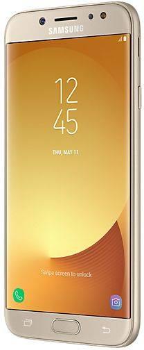 Смартфон Samsung Galaxy J7 (2017) SM-J730 16ГБ золотистый - фото 5