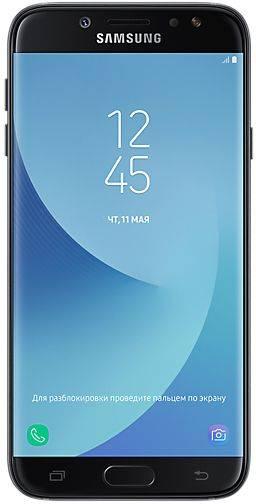 Смартфон Samsung Galaxy J7 (2017) SM-J730 16ГБ черный - фото 1