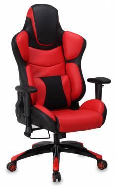 Кресло игровое Бюрократ CH-773 / BLACK+R черно-красный