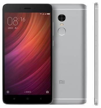 Смартфон Xiaomi Redmi Note 4X 16ГБ серый