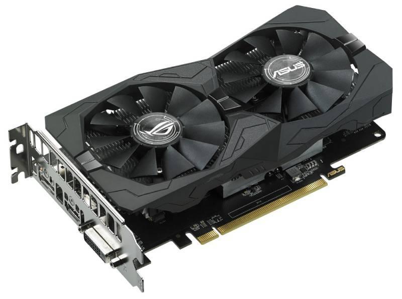Видеокарта Asus Radeon RX 560 4096 МБ (ROG-STRIX-RX560-O4G-GAMING) - фото 1