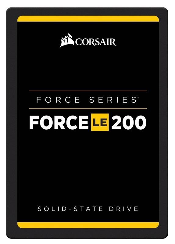 Накопитель SSD 480Gb Corsair Force LE200B CSSD-F480GBLE200B SATA III - фото 1