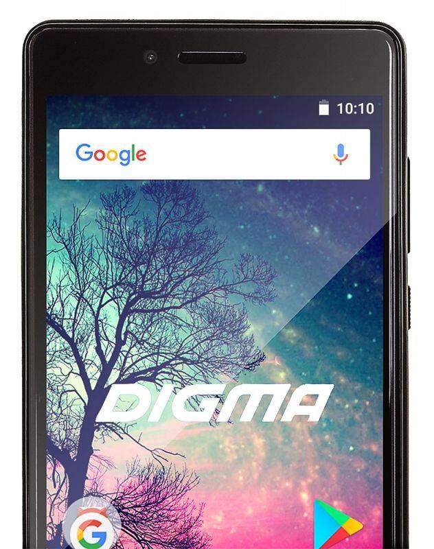 Смартфон Digma S508 3G VOX 16ГБ серый (VS5031PG) - фото 5