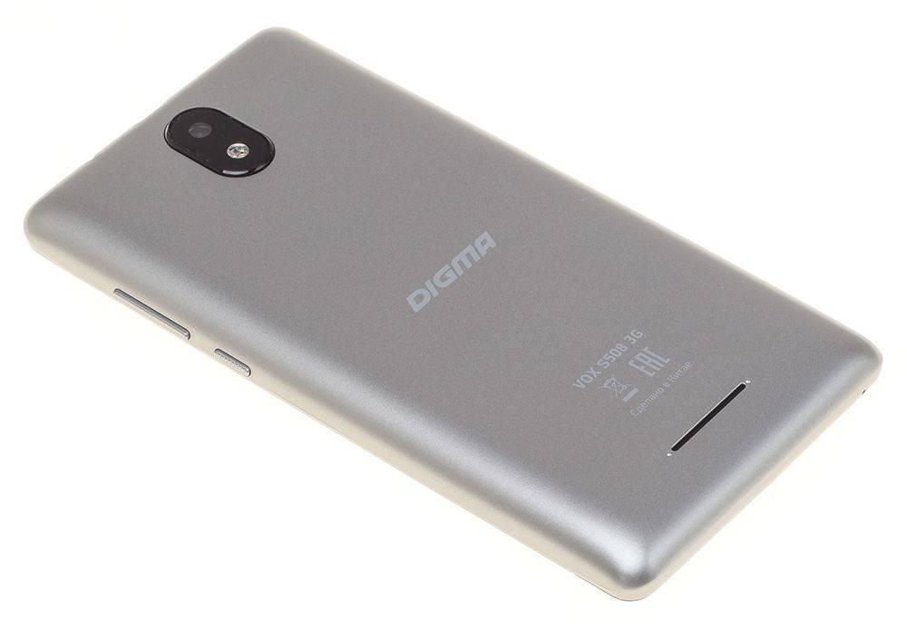 Смартфон Digma S508 3G VOX 16ГБ серый (VS5031PG) - фото 10