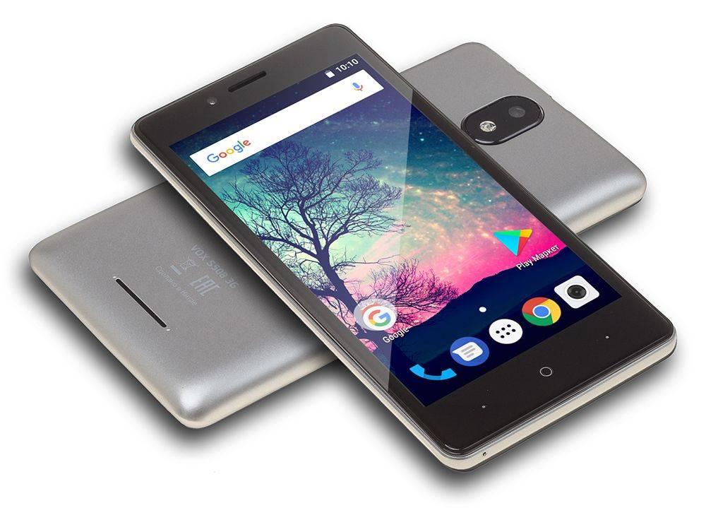 Смартфон Digma S508 3G VOX 16ГБ серый (VS5031PG) - фото 14
