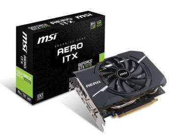 Видеокарта MSI GTX 1070 AERO ITX 8G OC 8192 МБ