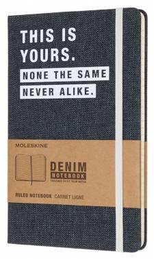 Блокнот Moleskine Limited Edition DENIM NOTEBOOKS Large (LCDNQP060T)