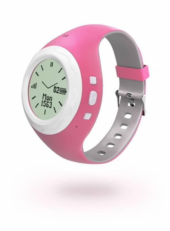 Смарт-часы HIPER BabyGuard розовый (BG-01PNK) - фото 1
