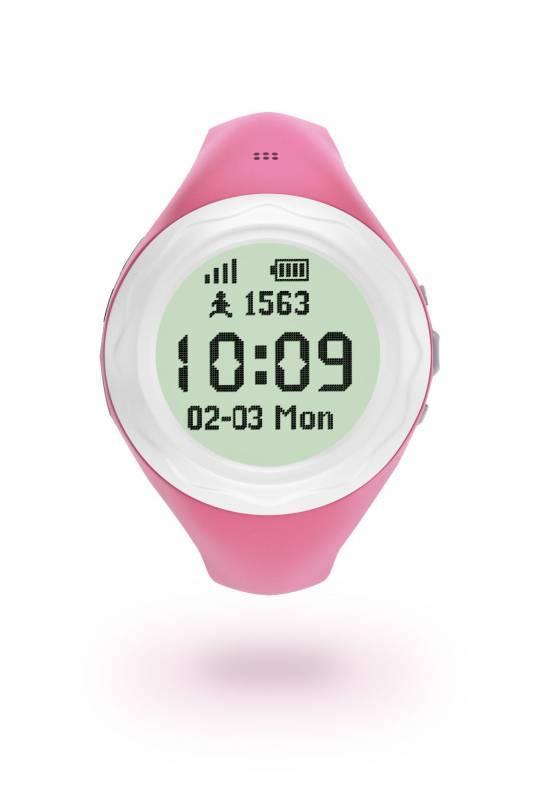 Смарт-часы HIPER BabyGuard розовый (BG-01PNK) - фото 2