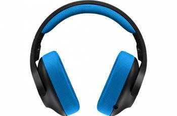 Наушники с микрофоном Logitech G233 Prodigy черный / синий