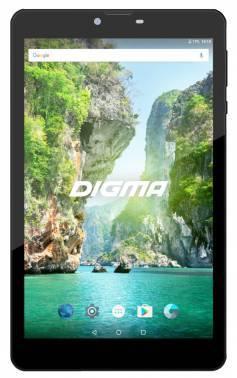 Планшет 8 Digma Plane 8733T 3G 16ГБ графит