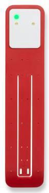 Фонарик-закладка Moleskine Booklight красный