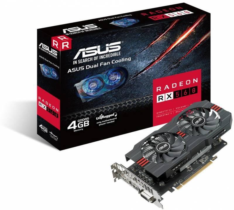 Видеокарта Asus RX560-4G 4096 МБ - фото 6