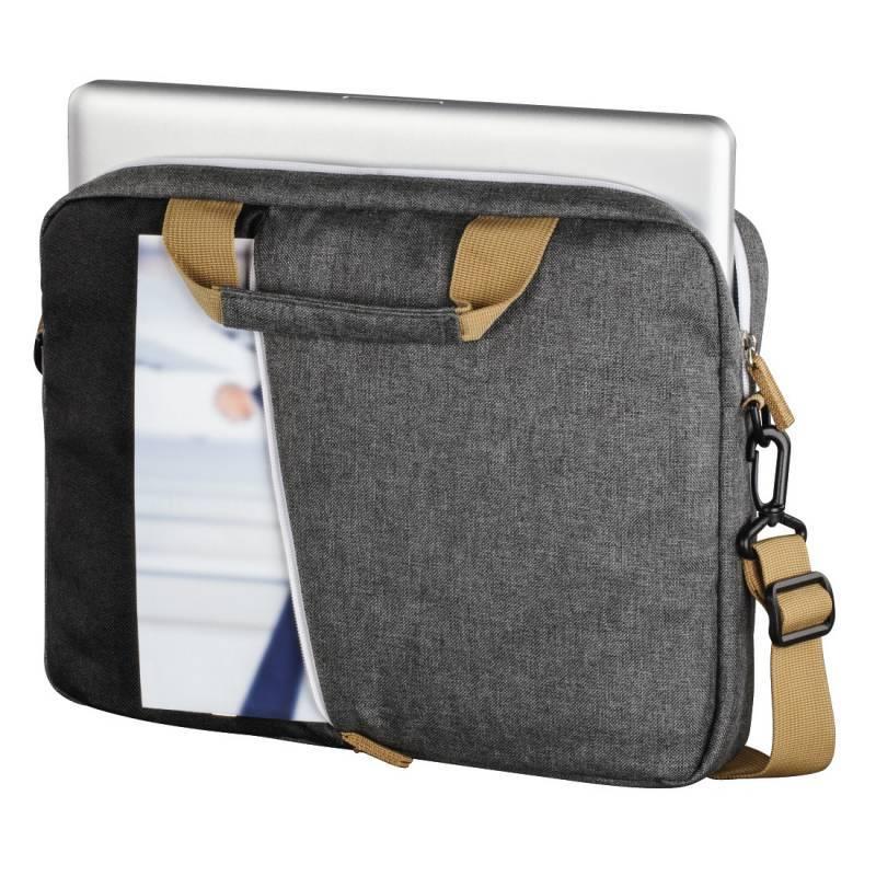"""Сумка для ноутбука 15.6"""" Hama Florence черный/серый (00101568) - фото 2"""
