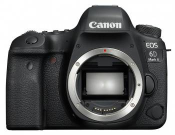 Фотоаппарат Canon EOS 6D Mark II черный, Body
