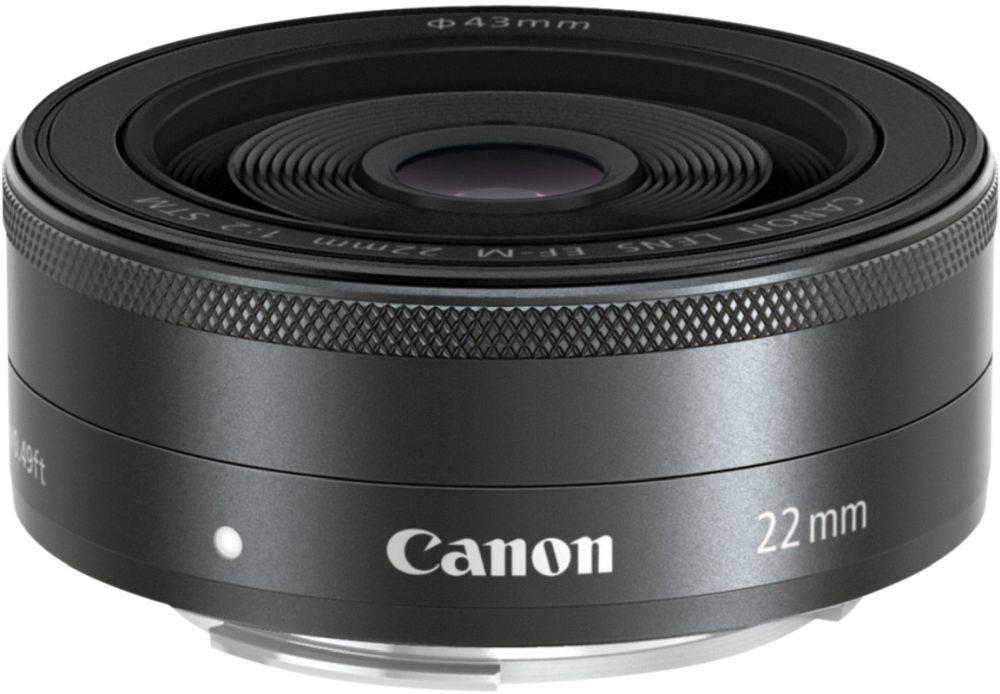 Объектив Canon EF-M STM 22mm f/2 (5985B005) - фото 1