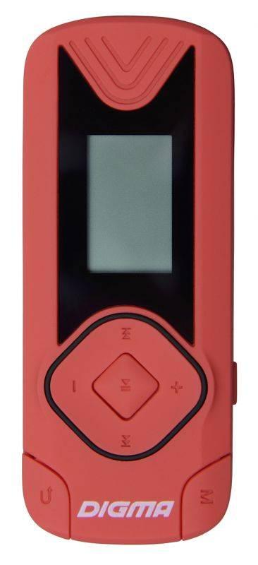 Плеер Digma R3 8ГБ красный (R3CR) - фото 1