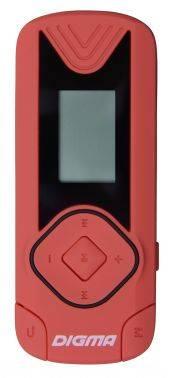 Плеер Digma R3 8ГБ красный (R3CR)