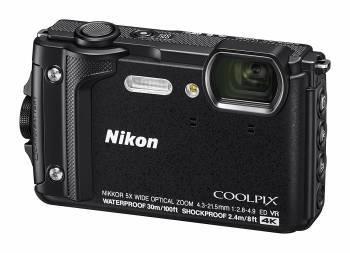 Фотоаппарат Nikon CoolPix W300 черный (VQA070E1)