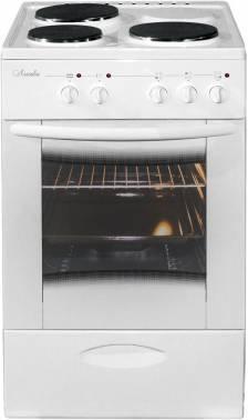 Плита электрическая Лысьва ЭП 301 MC белый, стеклянная крышка