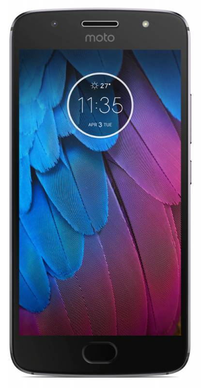 Смартфон Motorola G5S XT1794 32ГБ серый (PA7W0006RU) - фото 1