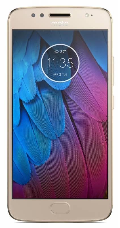 Смартфон Motorola G5S XT1794 32ГБ золотистый (PA7W0022RU) - фото 1
