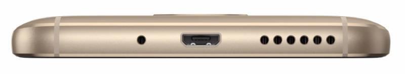Смартфон Motorola G5S XT1794 32ГБ золотистый (PA7W0022RU) - фото 5