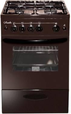 Плита газовая Лысьва ГП 400 МС-2у коричневый, без крышки