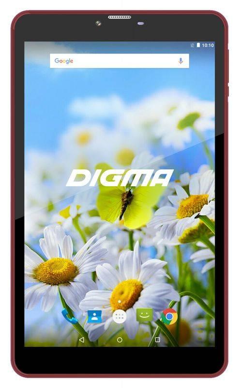 """Планшет 7"""" Digma Plane 7539E 4G 16ГБ черный (PS7155ML) - фото 1"""