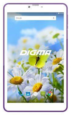 """Планшет 7"""" Digma Plane 7539E 4G 16ГБ белый (PS7155ML)"""