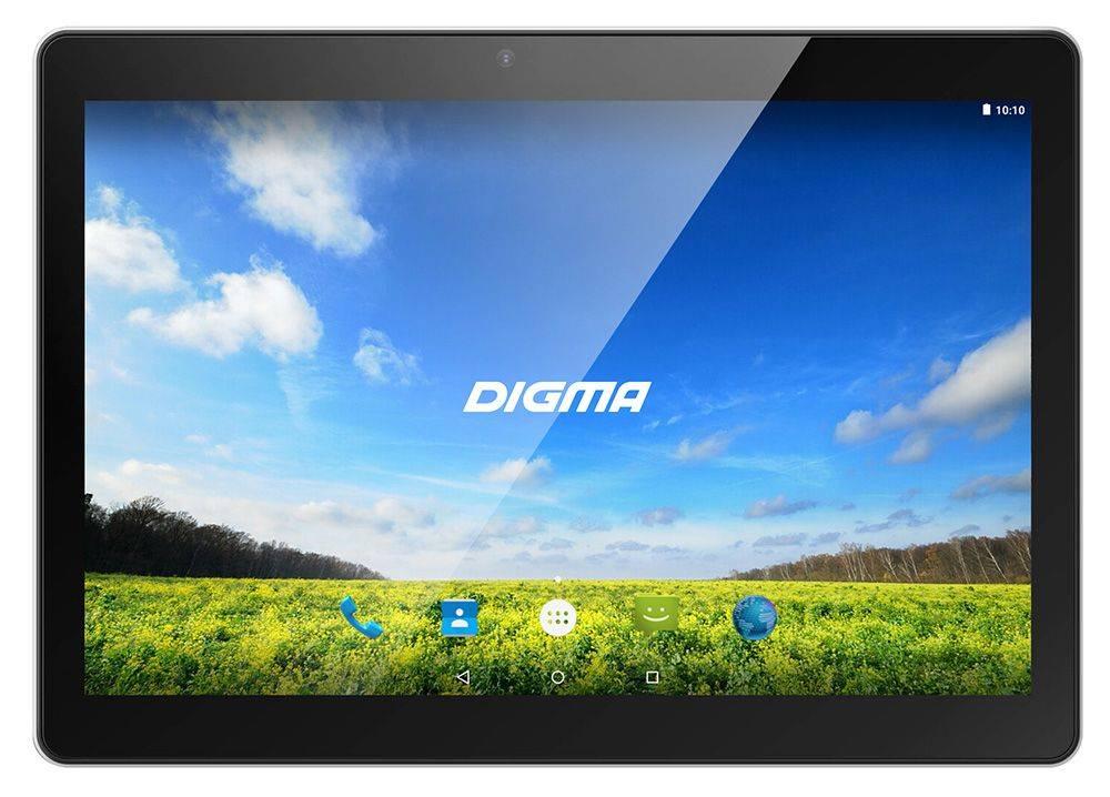 """Планшет 10.1"""" Digma Plane 1550S 3G 8ГБ черный - фото 1"""