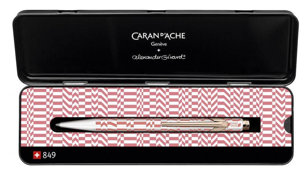 Ручка шариковая Carandache Office ALEXANDER GIRARD Pink (849.123) - фото 2
