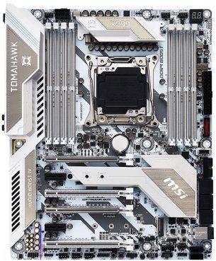 Материнская плата Soc-2066 MSI X299 TOMAHAWK ARCTIC ATX