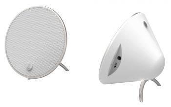 Колонки портативные Hama Cones белый (00173165)