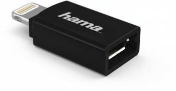 Адаптер Hama H-178400 micro USB (f)-Lightning (00178400)