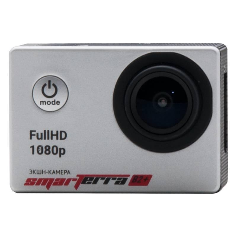 Экшн-камера Smarterra B2+ серебристый - фото 1