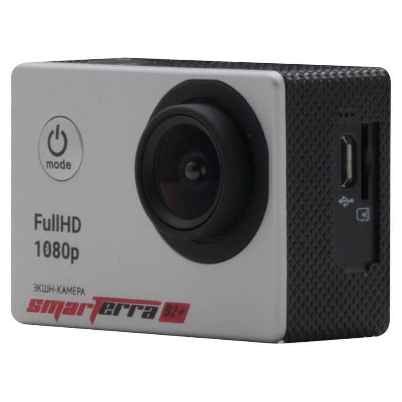 Экшн-камера Smarterra B2+ серебристый - фото 2